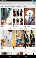 Screenshot of Fashion Styles CoordiSnap