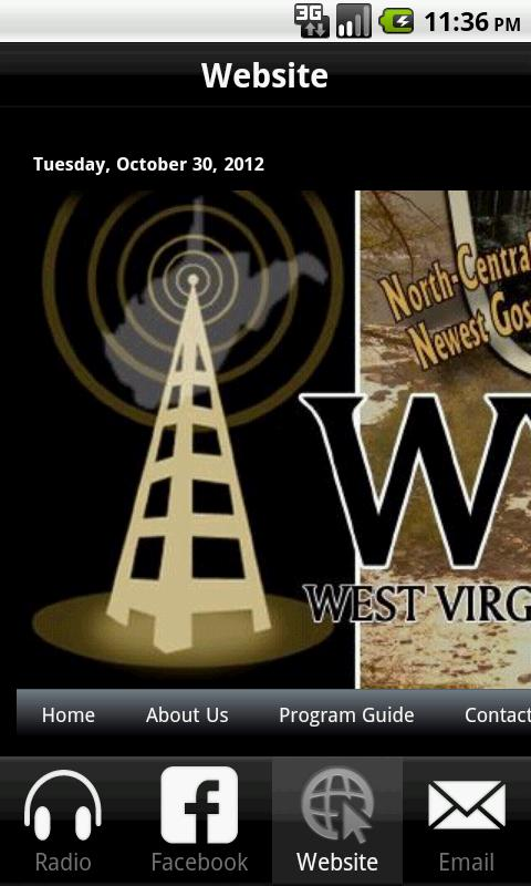 WVGV Radio- screenshot