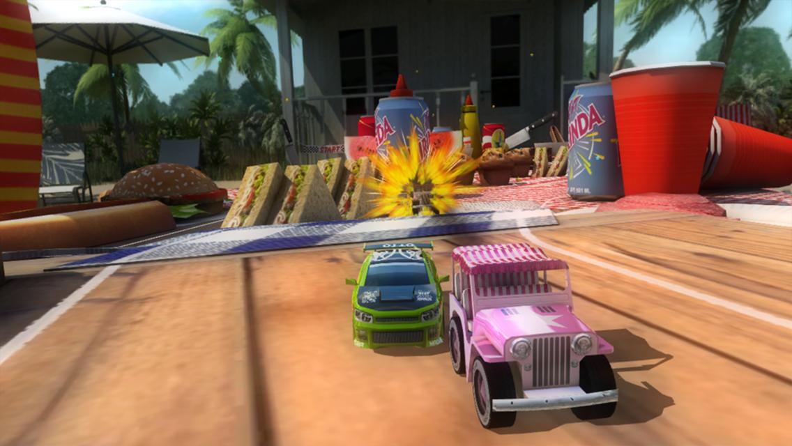 Table Top Racing Free screenshot #14