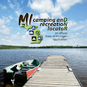 MI Camping and Rec Locator logo