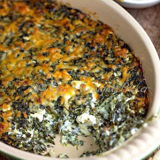 Hot Asiago Spinach Dip.