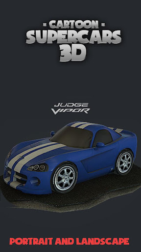 Toon Cars Dodge Viper 3D lwp