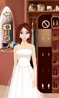 Screenshot of Wedding Dress Salon