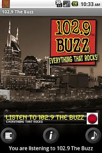 Nashville Rock 102.9 WBUZ - screenshot thumbnail