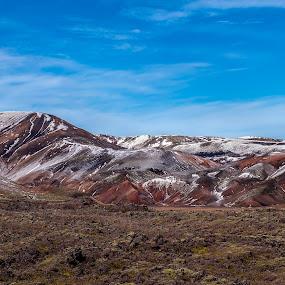 Heart of Iceland by Daniel Herr - Landscapes Mountains & Hills ( icelandic, iceland, landmannalaugar, volcano, lava, offroad, colors, moss, highlands )