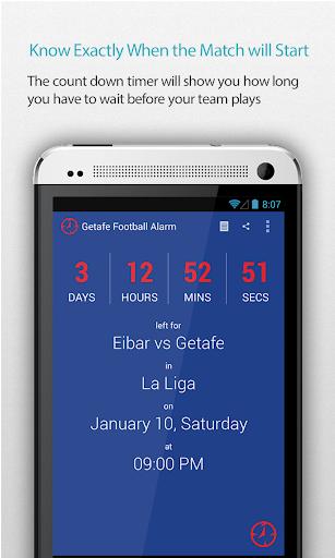 Getafe Football Alarm