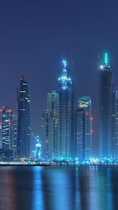 Dubai Night Live Wallpaper v1.1