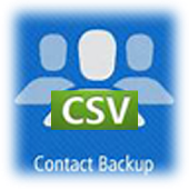 Contacts Backup in CSV