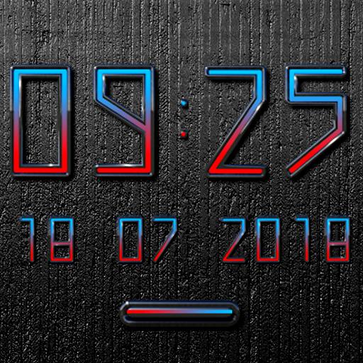 TARO Digital Clock Widget