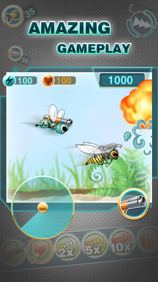 Angry Fly Adventure Free- screenshot