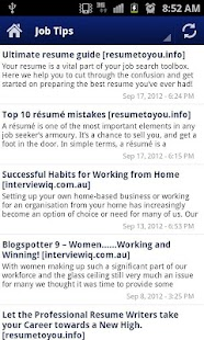 Australian Job Search - screenshot thumbnail