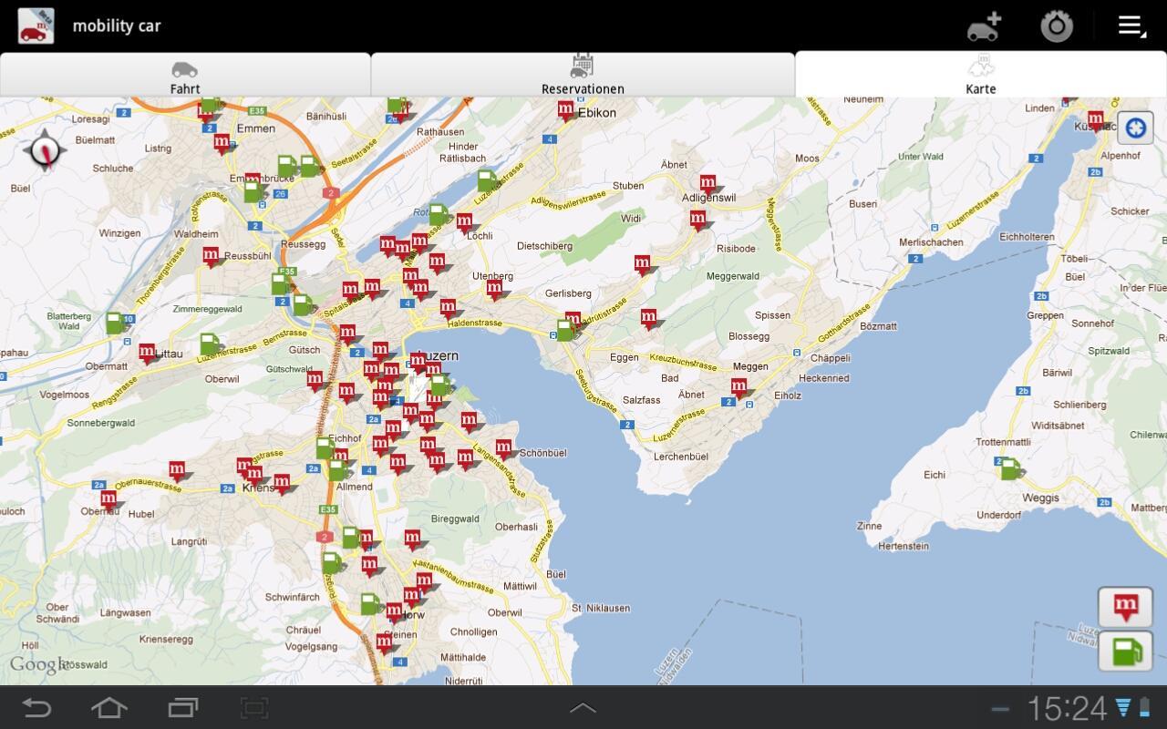 mobility car- screenshot