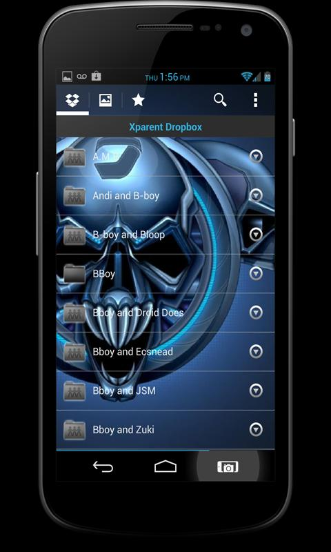 "CM10 JB Theme: ""CEE THROO"" - screenshot"