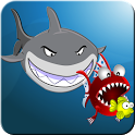 Crazy Hungry Shark Fish icon