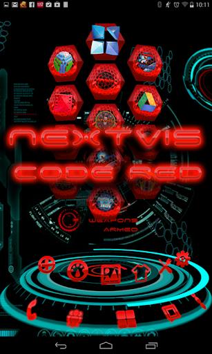 フリー次にランチャーCode Redの3D