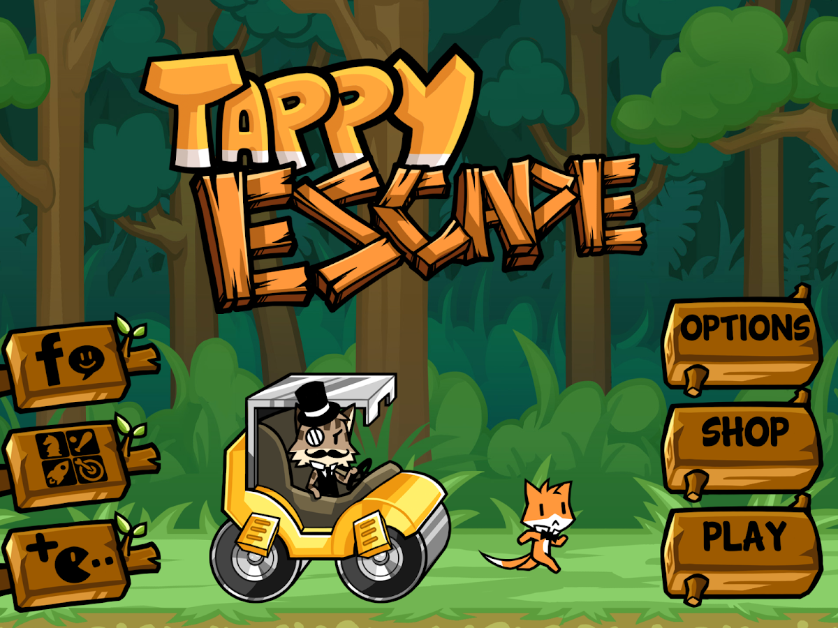 Tappy Escape - The Running Fox - screenshot