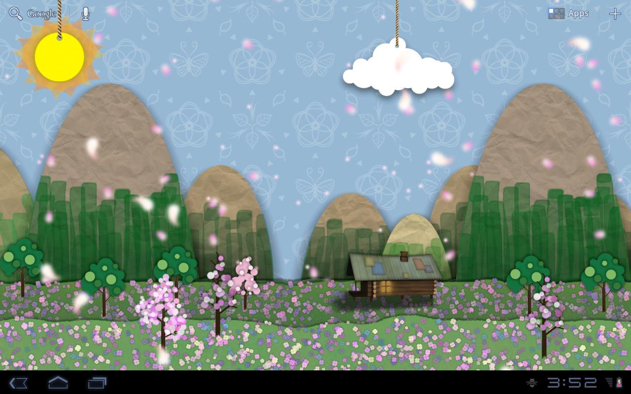 Samsung Parallax Spring- screenshot