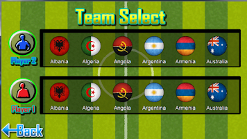 Screenshot of Finger Soccer Lite