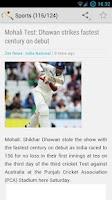 Screenshot of nuZapp - India News