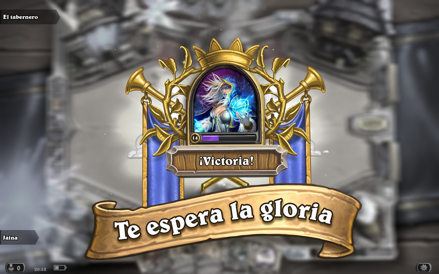 Hearthstone: captura de pantalla