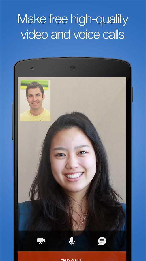 imo free video calls and chat - screenshot