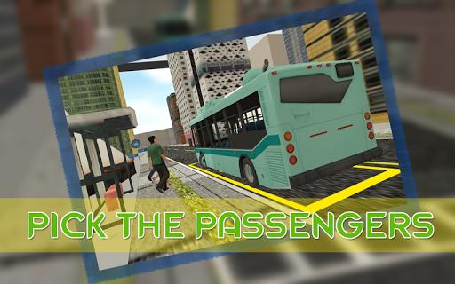 真正的城市公交车驾驶3D辛