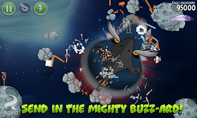 Angry Birds Space HD Screenshot 9