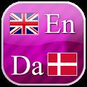 English - Danish flashcards icon