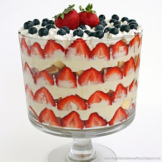 Patriotic Trifle Dessert and a Giveaway…