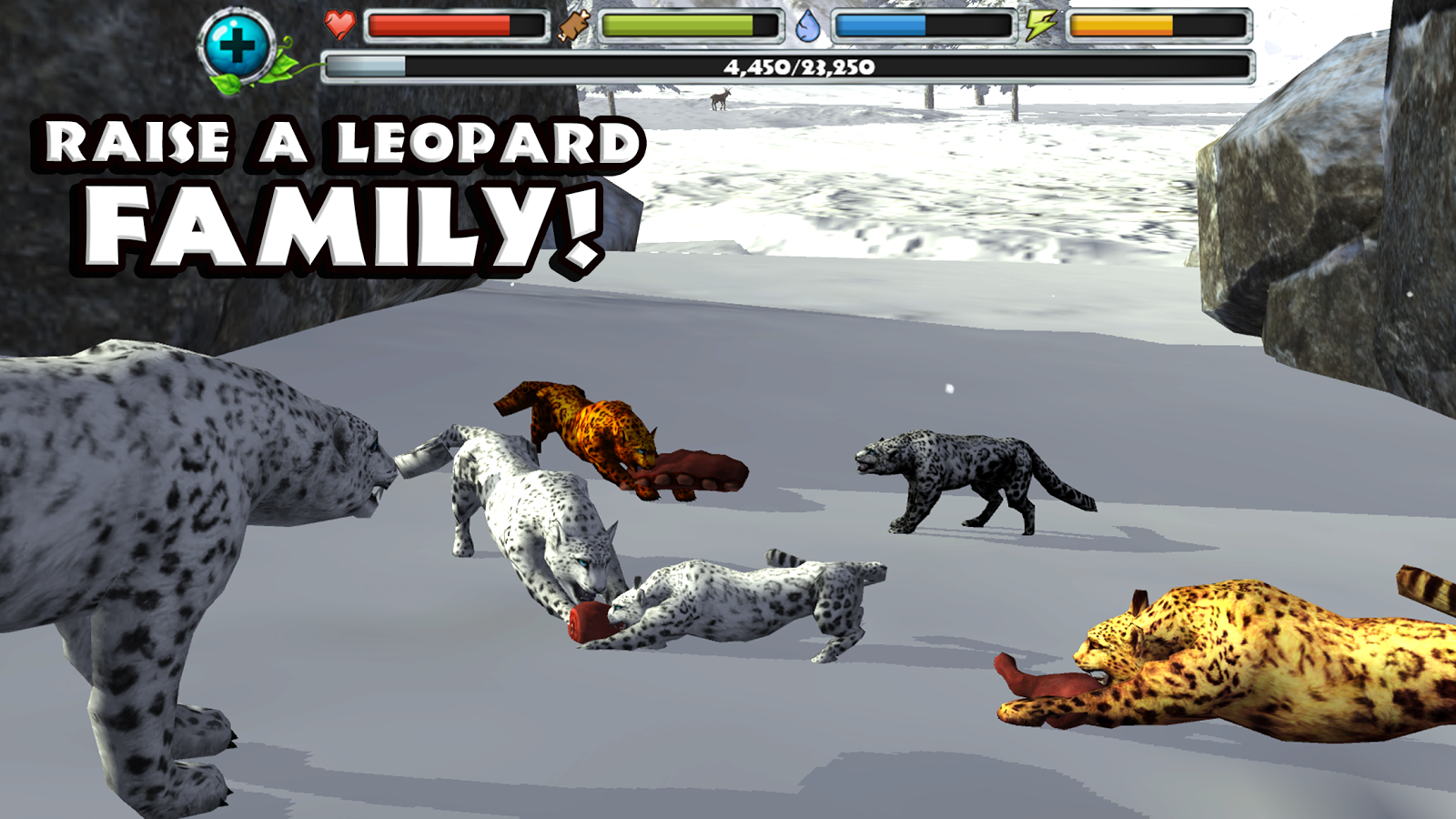 Snow Leopard Simulator- screenshot