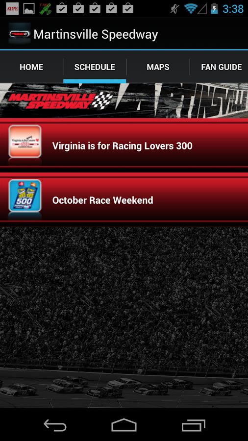 Martinsville Speedway - screenshot