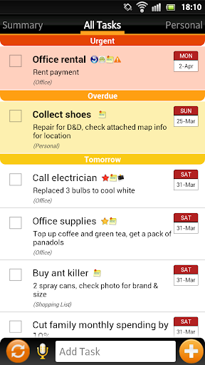 Todo List - Tasks N Todo's