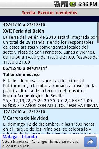 Sevilla Navidad- screenshot