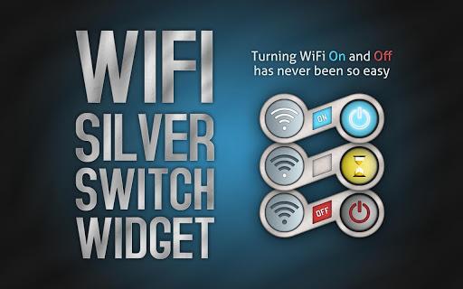 WiFi Silver Switch Widget
