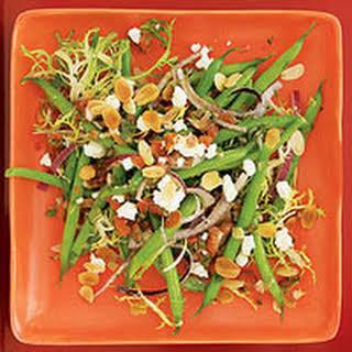Green Bean Salad with Salsa Dressing.