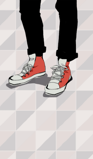 빨간 새신발 카카오톡 테마