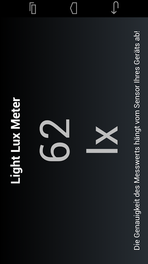 Light Lux Meter- screenshot