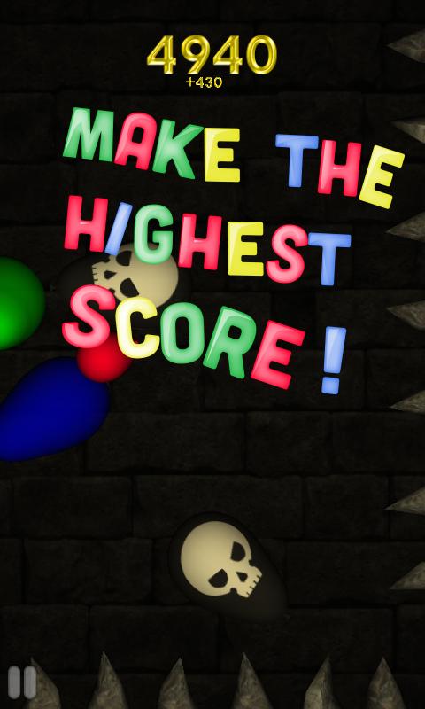 Dungeons & Balloons- screenshot