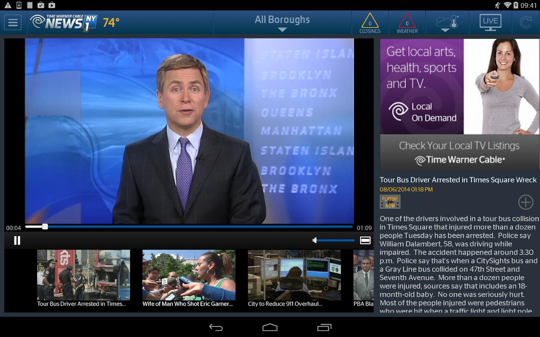 TWC News - screenshot