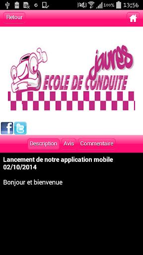 【免費教育App】Ecole de Conduite Jaures-APP點子