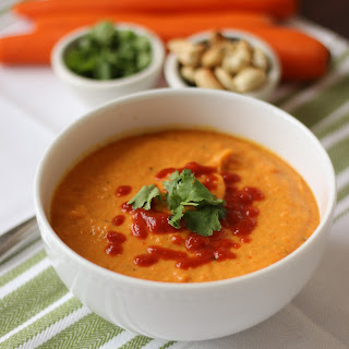 Carrot Coconut Soup.