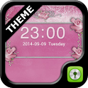 GO Locker Pink Roses Theme icon