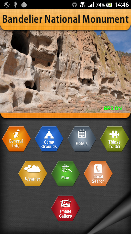 Bandelier National Monument- screenshot