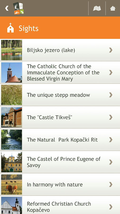 Bilje Travel Guide- screenshot