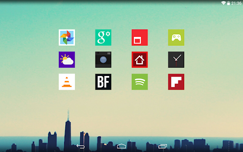 Square Icon Pack- screenshot thumbnail
