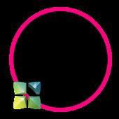 Holo Pink Next Launcher Theme
