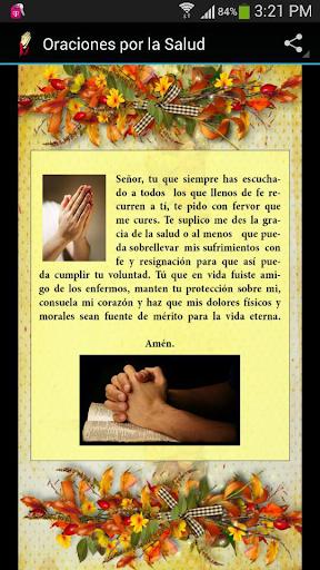 Oraciones por la Salud