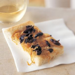 Olive and Onion Pissaladière
