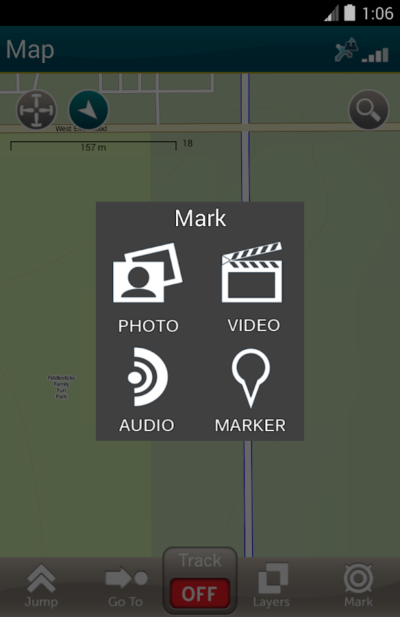 Terrain Navigator Pro - screenshot
