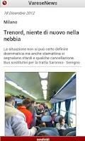 Screenshot of VareseNews